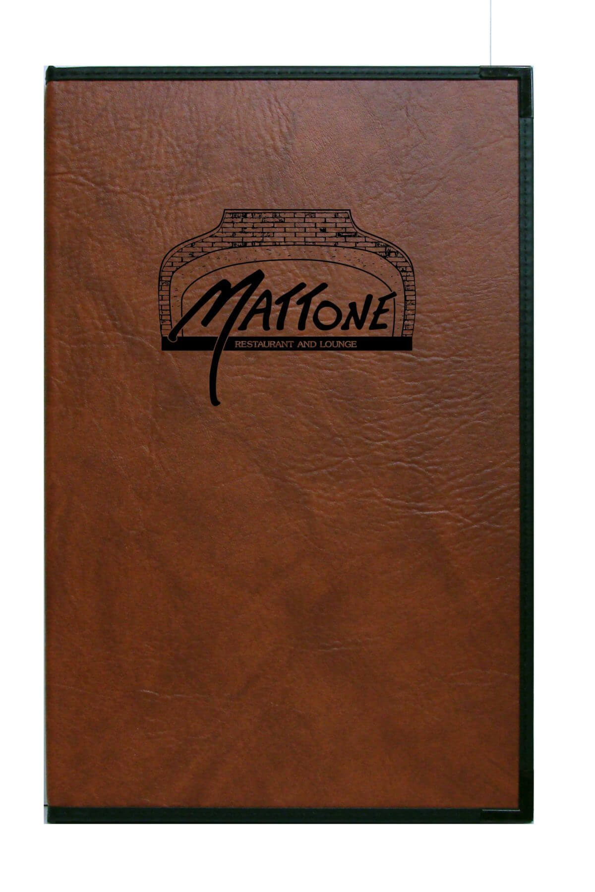 Royal-Style-Bourbon-Faux-Leather-With-Black-Foil-Logo