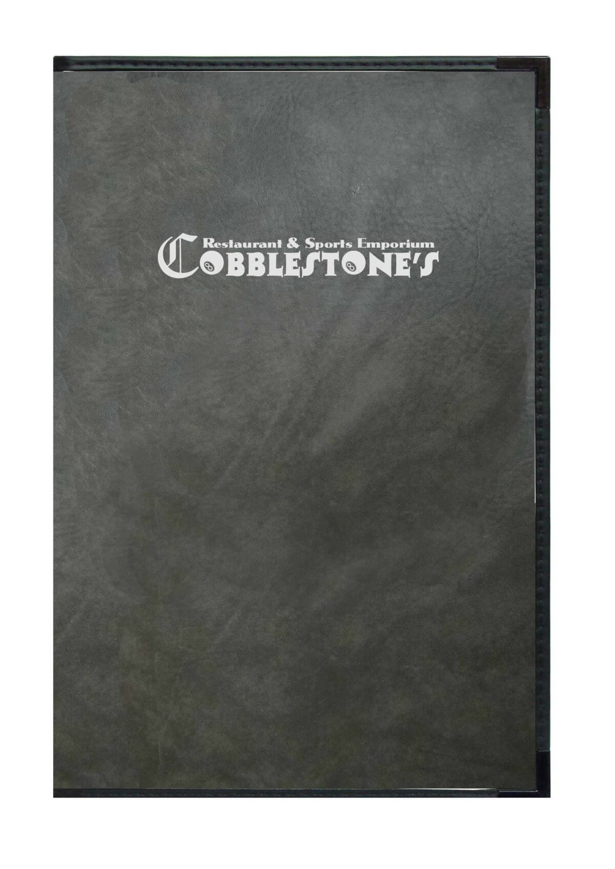 Royal-in-Charcoal-Faux-Leather-with-Silver-Foil-Logo